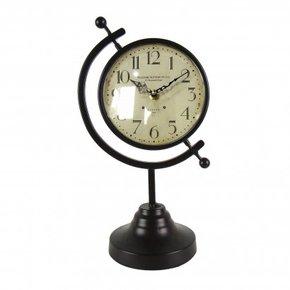 Horloge à poser en métal...