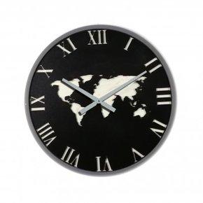 Horloge Mapmonde murale D45 cm