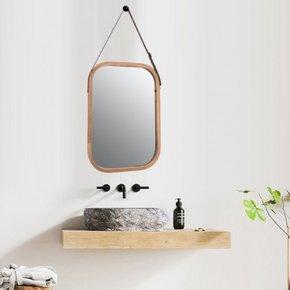 ELIJA bamboe spiegel...