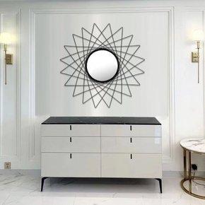 BALEA metalen spiegel D79 cm