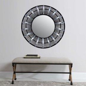 YSEE bamboo mirror D72 cm