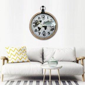 ALBY wall clock D60 cm
