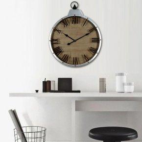 CONOR metal wall clock D60 cm