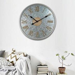 ALSTON metal wall clock D60 cm