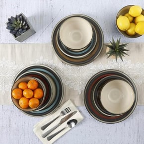 BOXTON ceramic soup plate...
