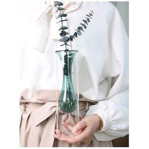 Vase SALOME green H26