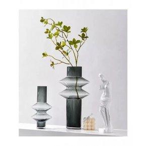 Vase SARAYA en verre H21,5 cm