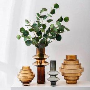 Vase SOBAT en verre H25 cm