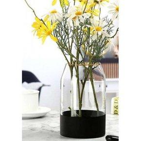 Glass vase GHANIMA H25 cm