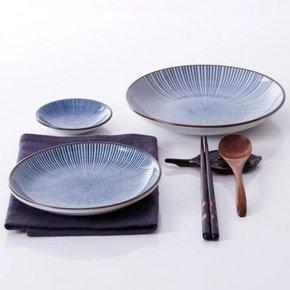 FUJIOKA ceramic soup plate...