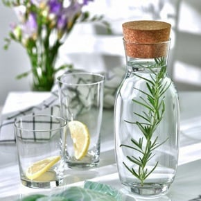 Krosno Glass Carafe with...