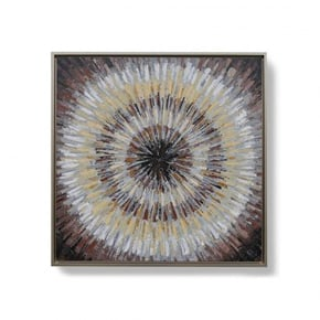 OMUTA hand-painted canvas -...