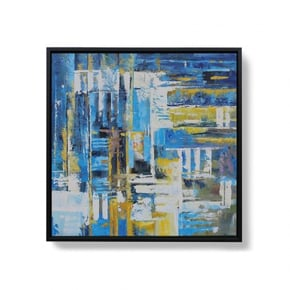 AOSHI hand-painted canvas -...