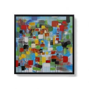 INZAI hand-painted canvas -...