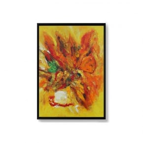 SHINSHIRO toile peinte à la...