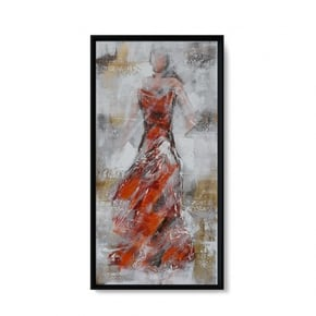 NISHIO hand-painted canvas...
