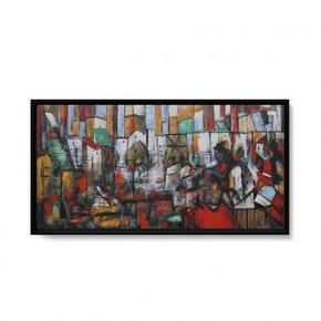 TSUSIMA hand-painted canvas...