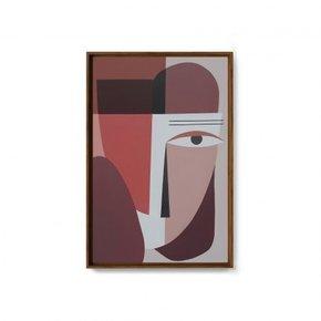 SETO hand-painted canvas -...