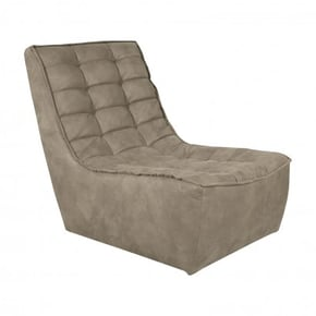 Gimmy fabric recliner - Brun