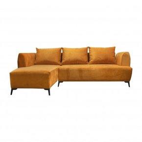 Canapé d'angle en velours...