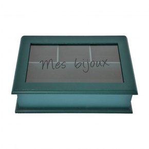 Jewelry box 24,5x16xH7 cm -...