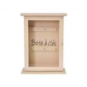 Key box 22x8xH29 cm - Beige