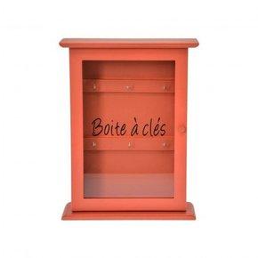 Key box 22x8xH29 cm - Rouille
