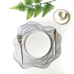Non-slip placemat - Grey