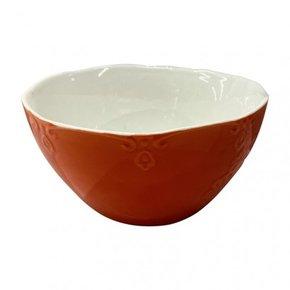 Ceramic bowl D12,5 cm - Red