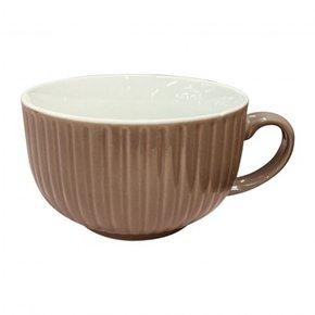 Ceramic mug D10 cm - Brown