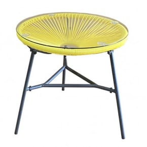 Table basse de jardin ronde...