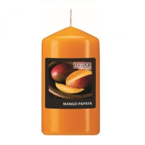 Scented pillar candle - Mangue