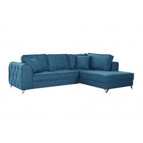 Canapé d'angle en velours 5...