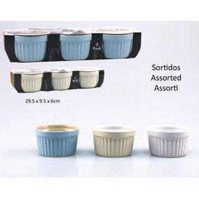 Set 3 ramequin en ceramique