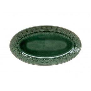 Assiette en céramique ovale...