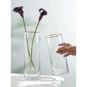 Vase ROUKA en verre avec...