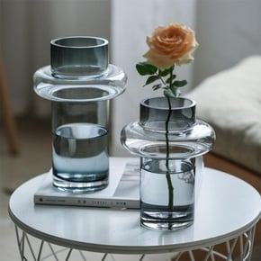 Vase OTARU en verre H30 cm