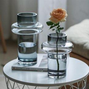 Vase OTARU en verre H26 cm