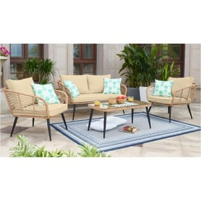 SET 4 PCS JARDIN 1 SOFA...
