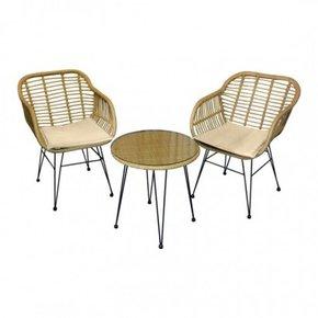 Set 2 garden armchairs +...