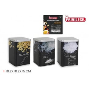 Privilege lot de 3 pots de...