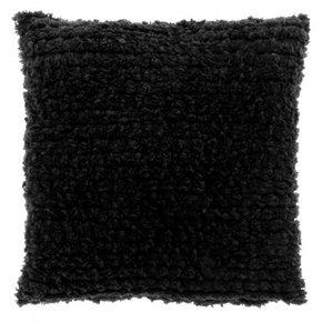 Coussin FRISÉ 45x45 cm - Black