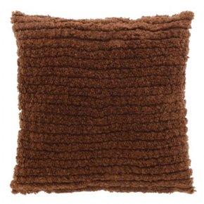 Coussin FRISÉ 45x45 cm - Brown