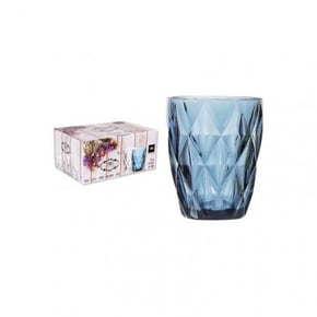 Syros verre en cristal bleu...