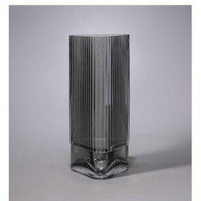 Vase GRAZIA en verre gris...