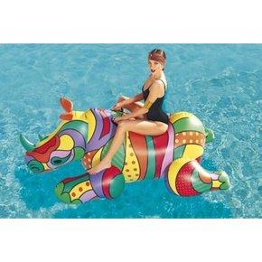 Rhinoceros gonflable pop...