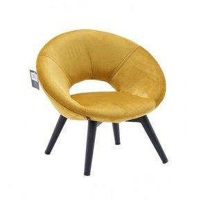 Children's velvet armchair...