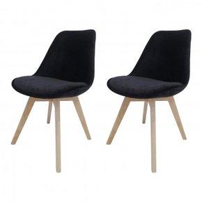 Lot de 2 chaises en...