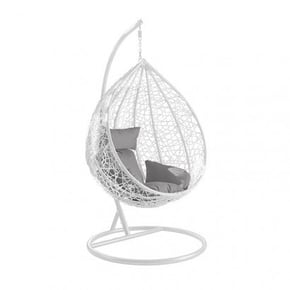 Hanging armchair egg black...