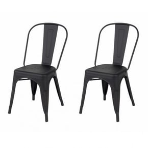 Set of 2 Industrial Chairs...